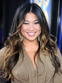 Jenna Ushkowitz With Caramel Blonde Dip Highlights