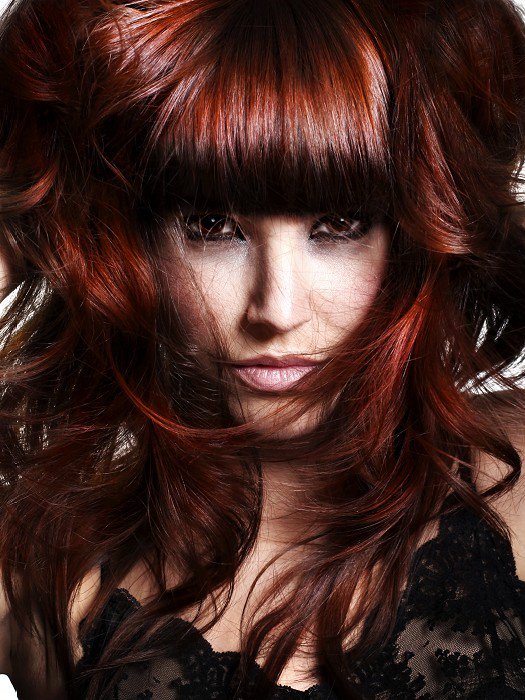 Pictures : Dark Red Hair Color: Is It Right for You ... - photo#19