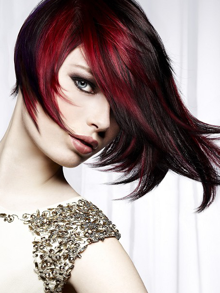 Pictures Dark Red Hair Color Is It Right For You