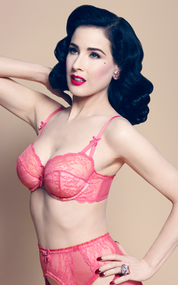 Dita Von Teese Von Follies 2013 Lingerie Collection Look 2
