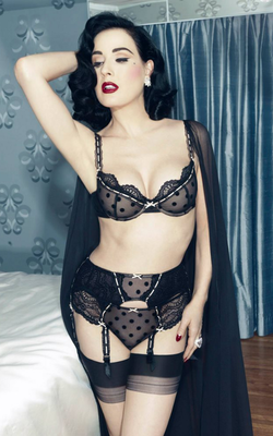 Dita Von Teese Von Follies 2013 Lingerie Collection Look 4
