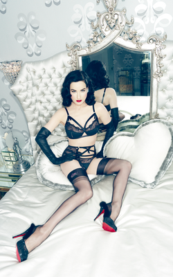 Dita Von Teese Von Follies 2013 Lingerie Collection Look  5