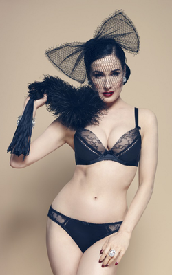 Dita Von Teese Von Follies 2013 Lingerie Collection Look  6