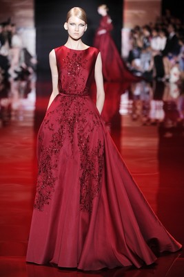 Elie Saab Fall 2013 Couture Collection Look  1
