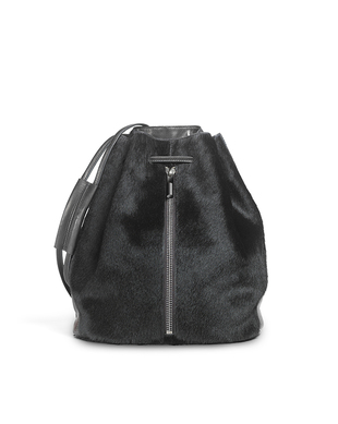 Elizabeth And James Black Haircow Sling Bag