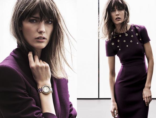 Escada Campaign Fall Winter 2013  2014
