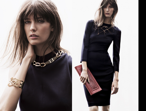 Escada Campaign Fall Winter 2013