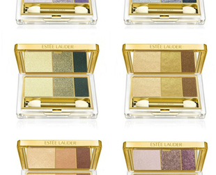 Gorgeous metallic shades are the focus of newest fall 2013 Estee Lauder makeup collection. Check it out!