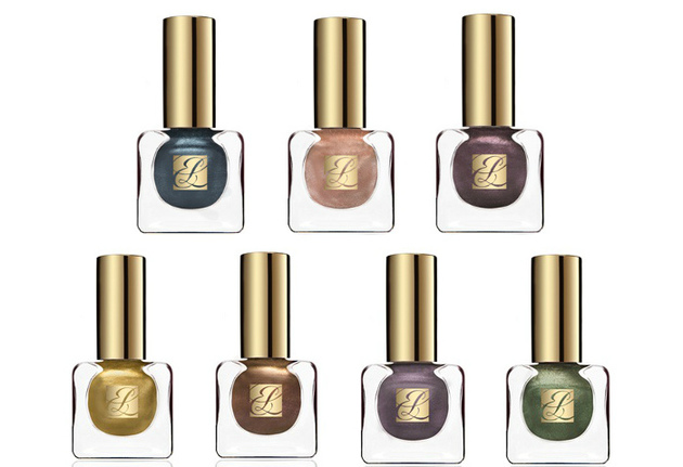 Estee Lauder Pure Color Metallics Fall 2013 Collection Nail Polishes