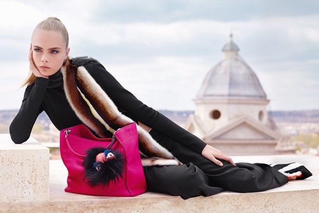 Fendi Fall 2013 Campaign With Cara Delevingne