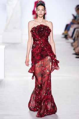 Giambattista Valli Couture Look 18 Fall 2013