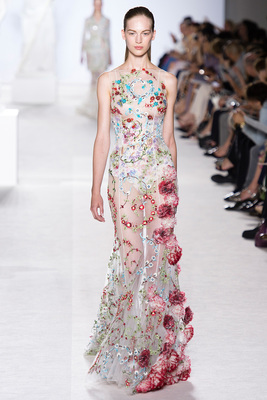 Giambattista Valli Couture Look 24 Fall 2013