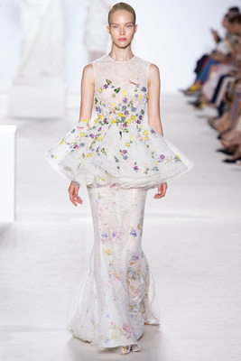 Giambattista Valli Couture Look 26 Fall 2013