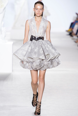 Giambattista Valli Couture Look 3 Fall 2013