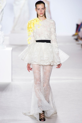 Giambattista Valli Couture Look 32 Fall 2013