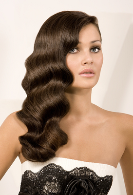 Glam Waves Long Hairstyle