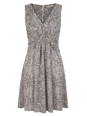 Issa For Banana Republic Draped Waist Dress