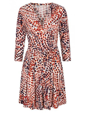 Banana Republic Issa Print Wrap Dress