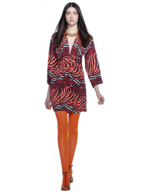 Banana Republic Issa Printed Wrap Dress