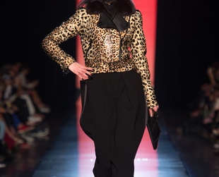 Have a look at Jean Paul Gaultier's eclectic couture collection presented during Paris Haute Couture Fashion Week.