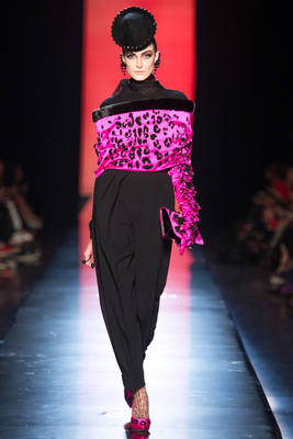 Jean Paul Gaultier Couture Look 15 Fall 2013