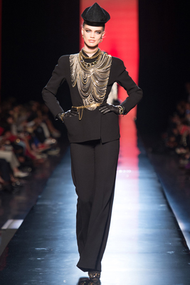 Jean Paul Gaultier Couture Look 26 Fall 2013