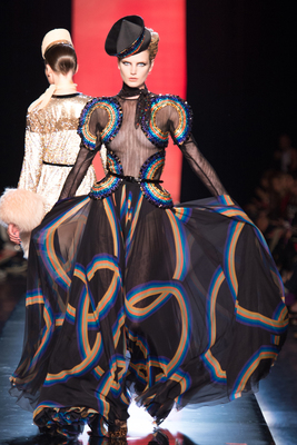 Jean Paul Gaultier Couture Look 37 Fall 2013