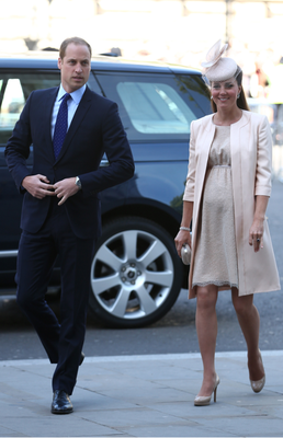 Newly Parents Kate Middleton And Prince William