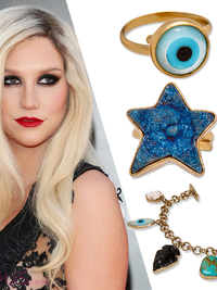 Ke$ha Jewelry Collection for Charles Albert