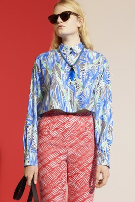 Kenzo Look 14 Resort 2014 Collection