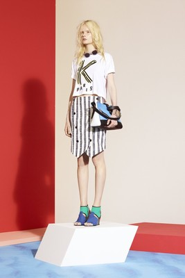 Kenzo Look 2 Resort 2014 Collection