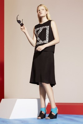 Kenzo Look 26 Resort 2014 Collection