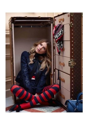 Dree Hemingway Louis Vuitton Pre Fall 2013 Collection
