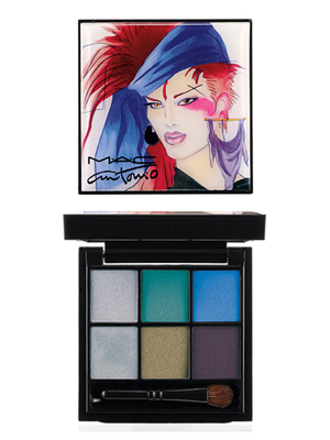 Mac Mario Lopez 6 Eyes Palette Teal