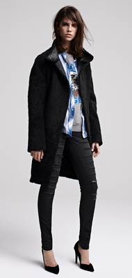 Maje Fall Winter 2013 Collection Look  (11)