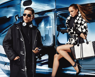 Have a glimpse at Michael Kors' luxurious new campaign for fall/winter 2013-2014.