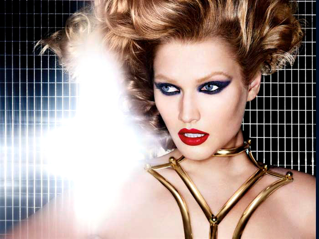 Toni Garrn Nars Fall 2013 Makeup