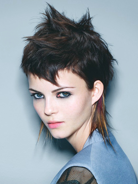short punk hairstyles 2017 : Short Punk Hairstyles Female - Best Hairstyle 2017