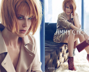 The much awaited Nicole Kidman for Jimmy Choo ads for fall 2013 have finally been unveiled! Have a look.
