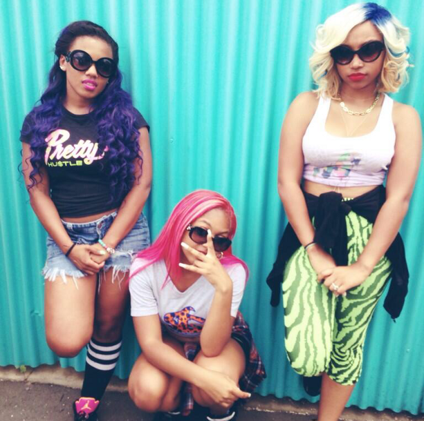 Breaunna Womack  Zonnique Pullins  Bahja Rodriguez Omg Girlz Hair