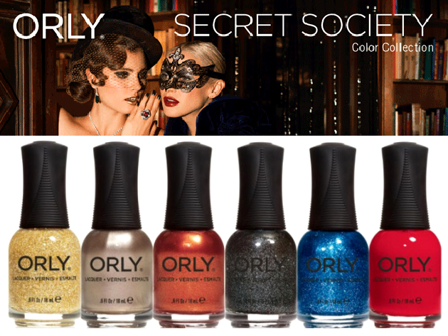 Orly Secret Society Nail Polish Collection