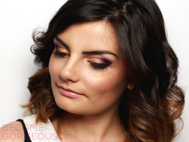 Pictures : Party Makeup for Brown Eyes Tutorial - Video ...