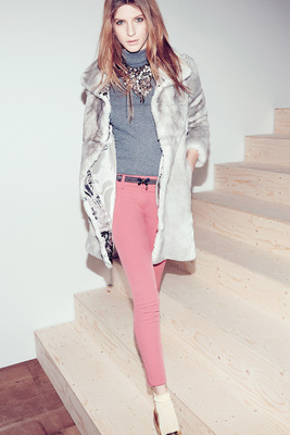 Patrizia Pepe Fall Winter 2013 Look   (1)