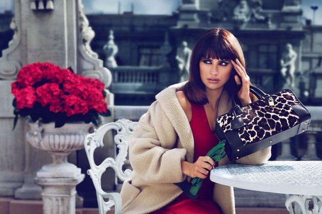 Penelope Cruz for Loewe Fall/Winter 2013-2014 Campaign