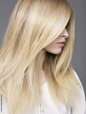 Dimensional Blonde Hair With Platinum Blonde