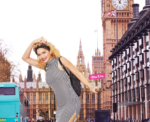 The first ads from Rita Ora's campaign for Material Girl are out. Have a look!