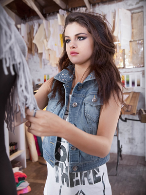 Selena Gomez For Adidas Neo Fall 2013 Campaign Look 2