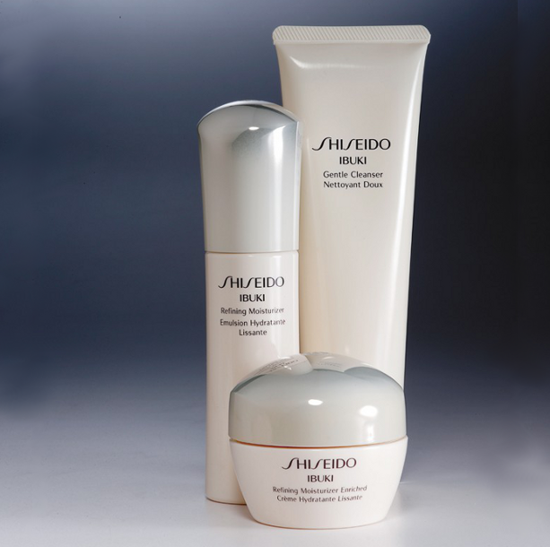 Shiseido Ibuki Products