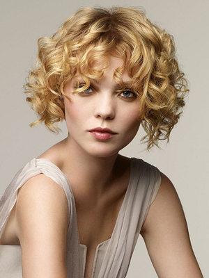 Curly Short Haircut