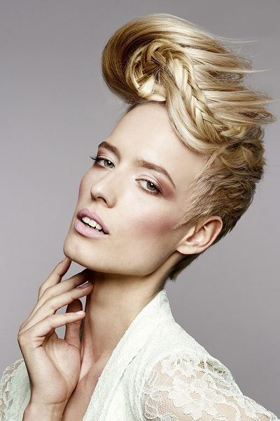 Pictures : Stylish Updos for Short Hair - Formal Updo Idea ...